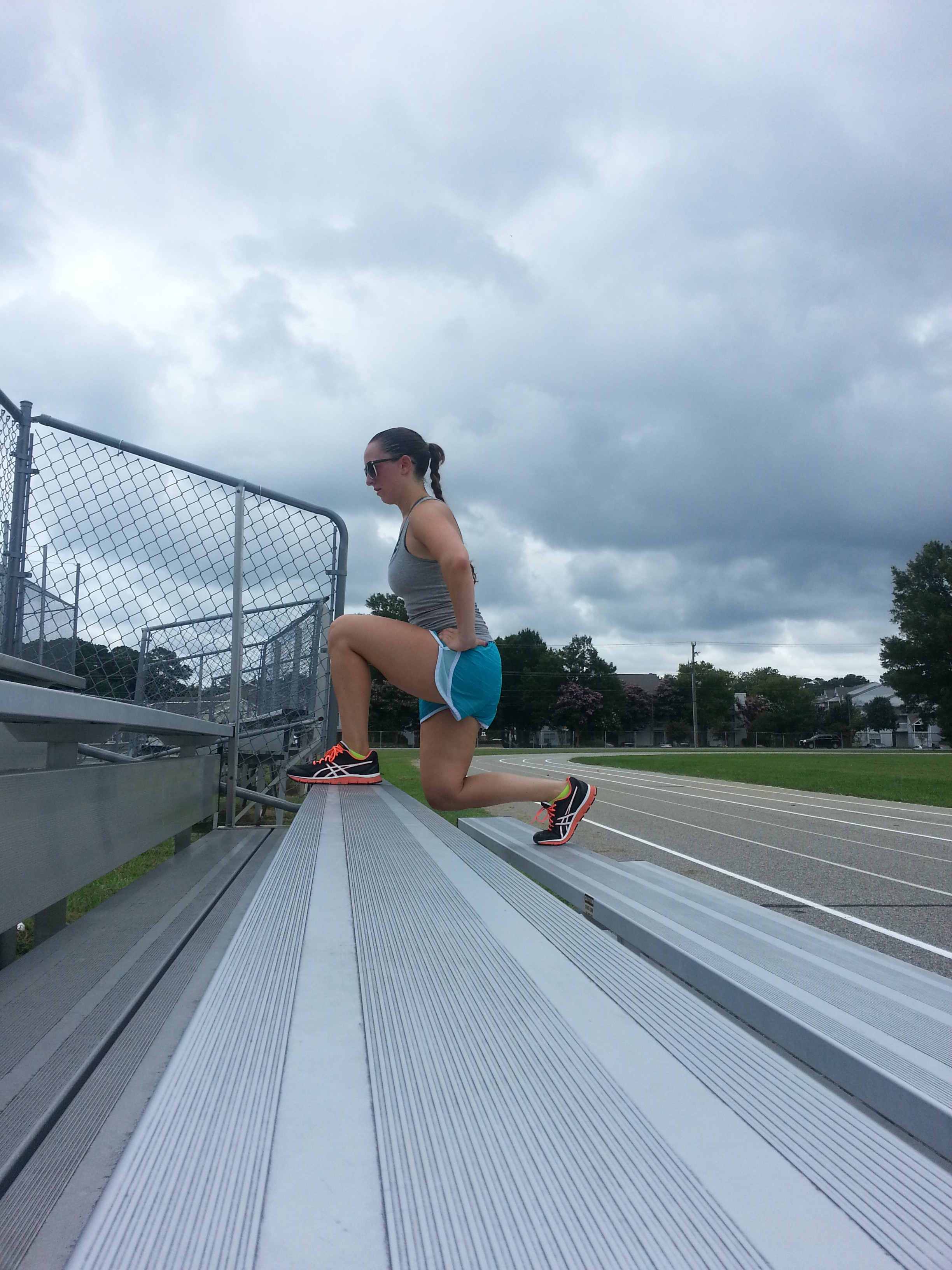 Bleacher Creature Workout