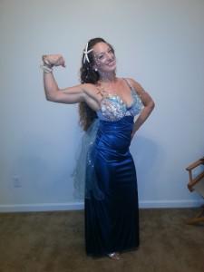 Mermaids flex too!