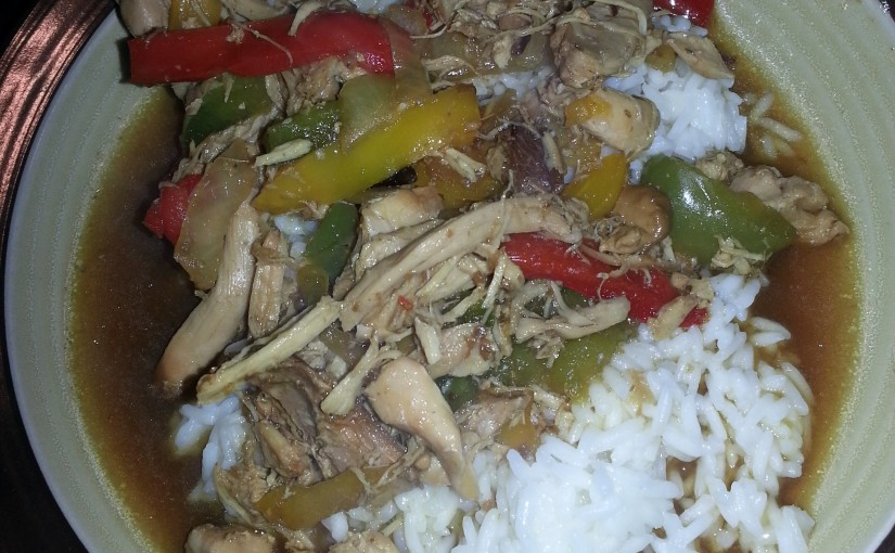 Crockpot Chicken Stir Fry